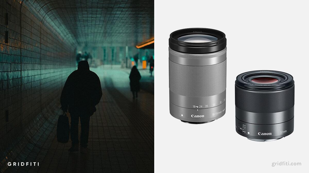 Best Canon M50 Lens for B-Roll