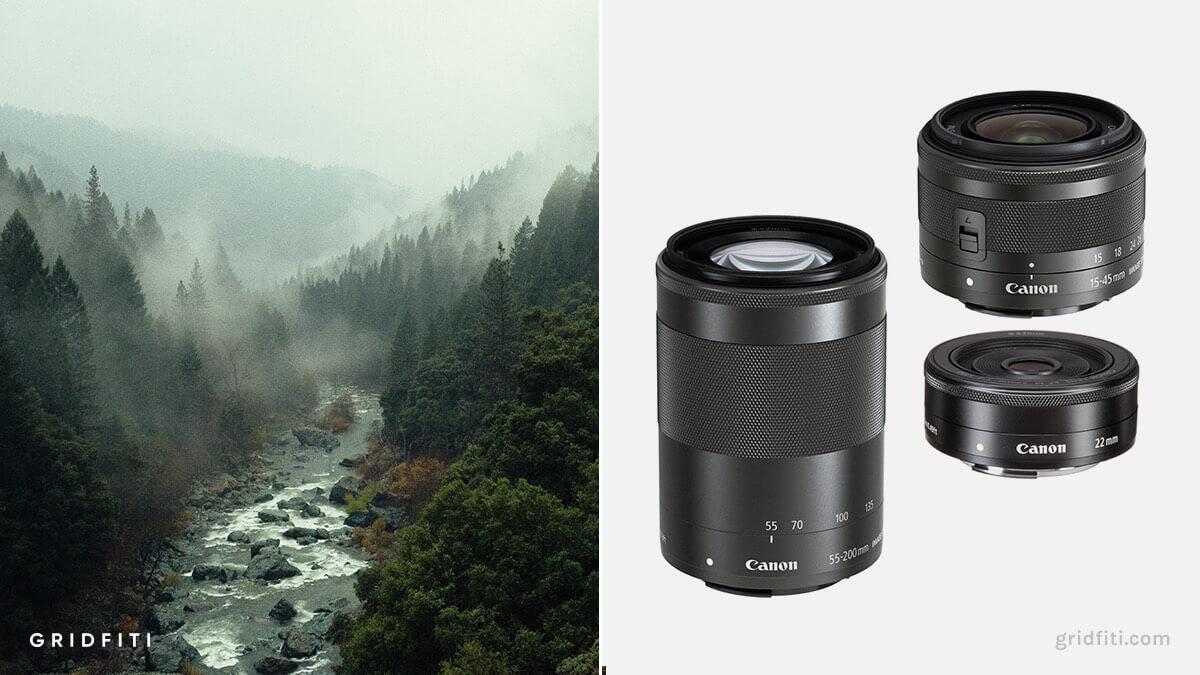 Best Canon M50 Lens for Landscape