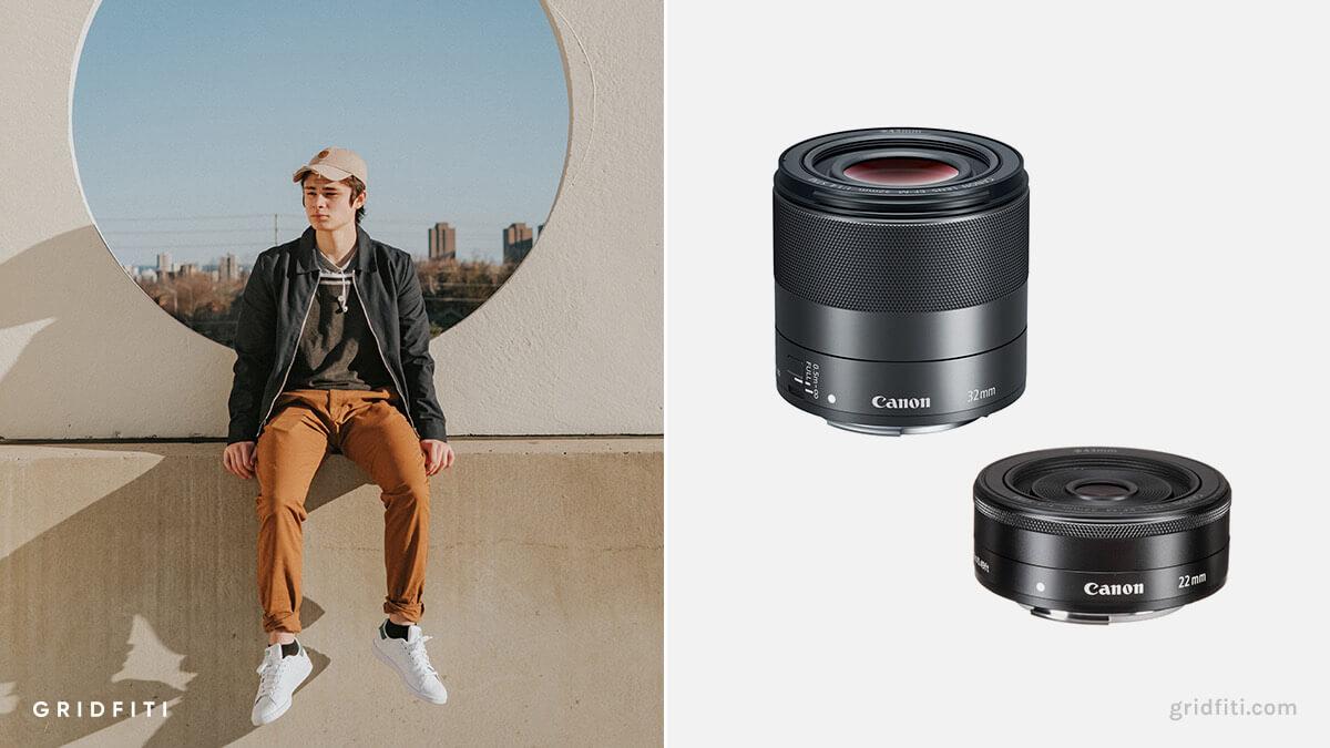 Best Canon M50 Lens for Portraits