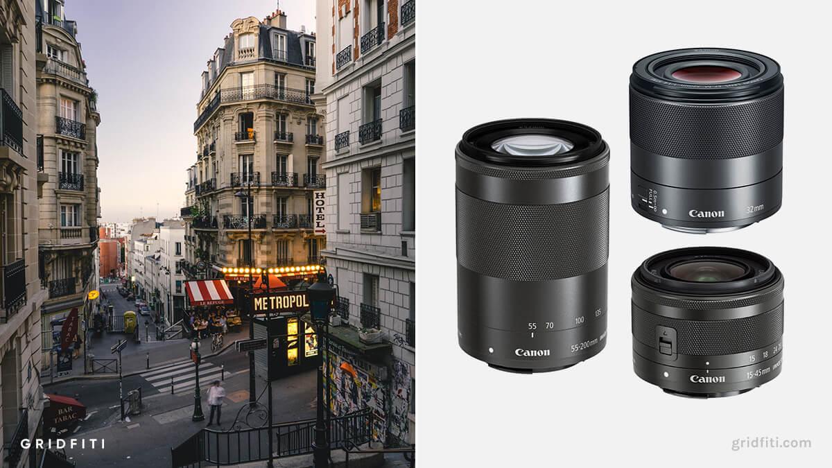 Best Canon M50 Lens for Travel