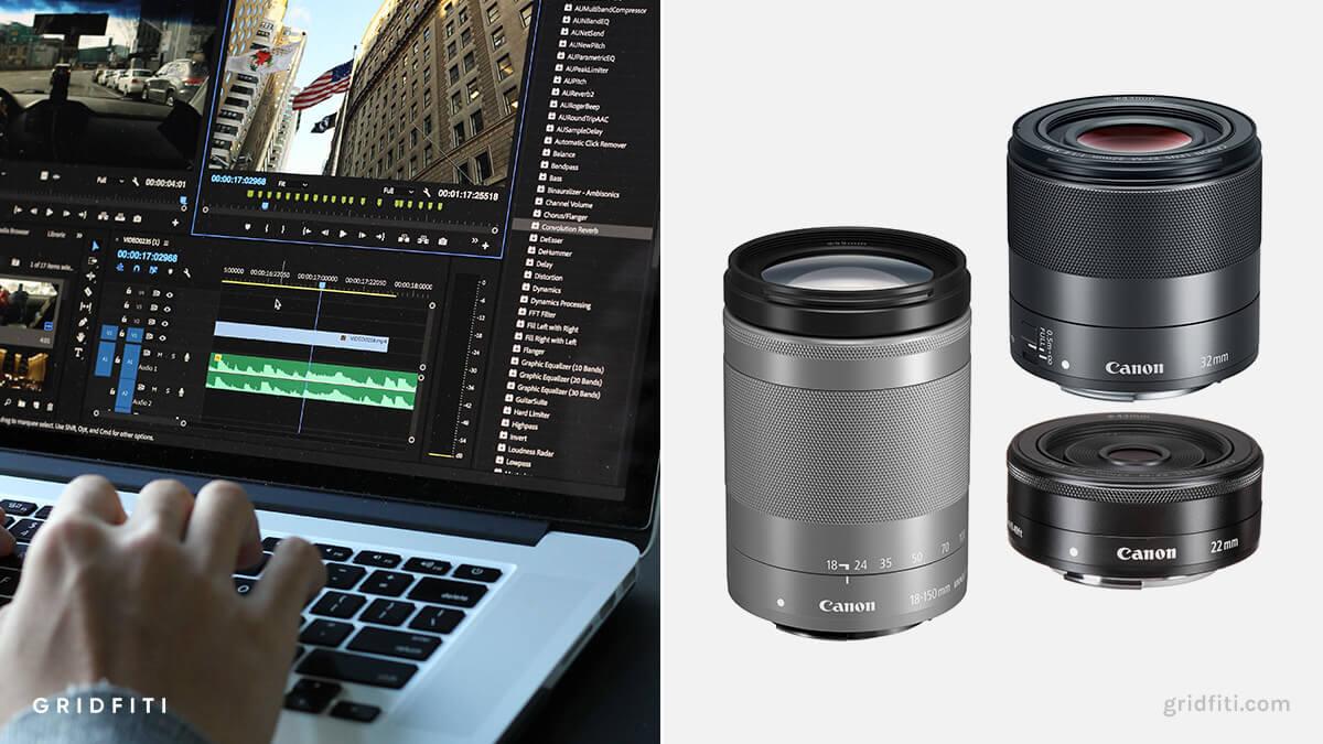 Best Canon M50 Lenses for Video