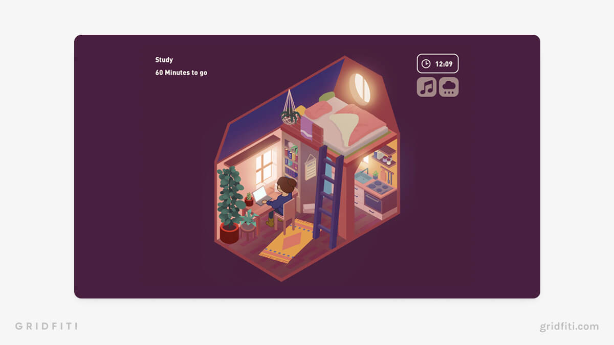 Aesthetic Cottage Virtual Space
