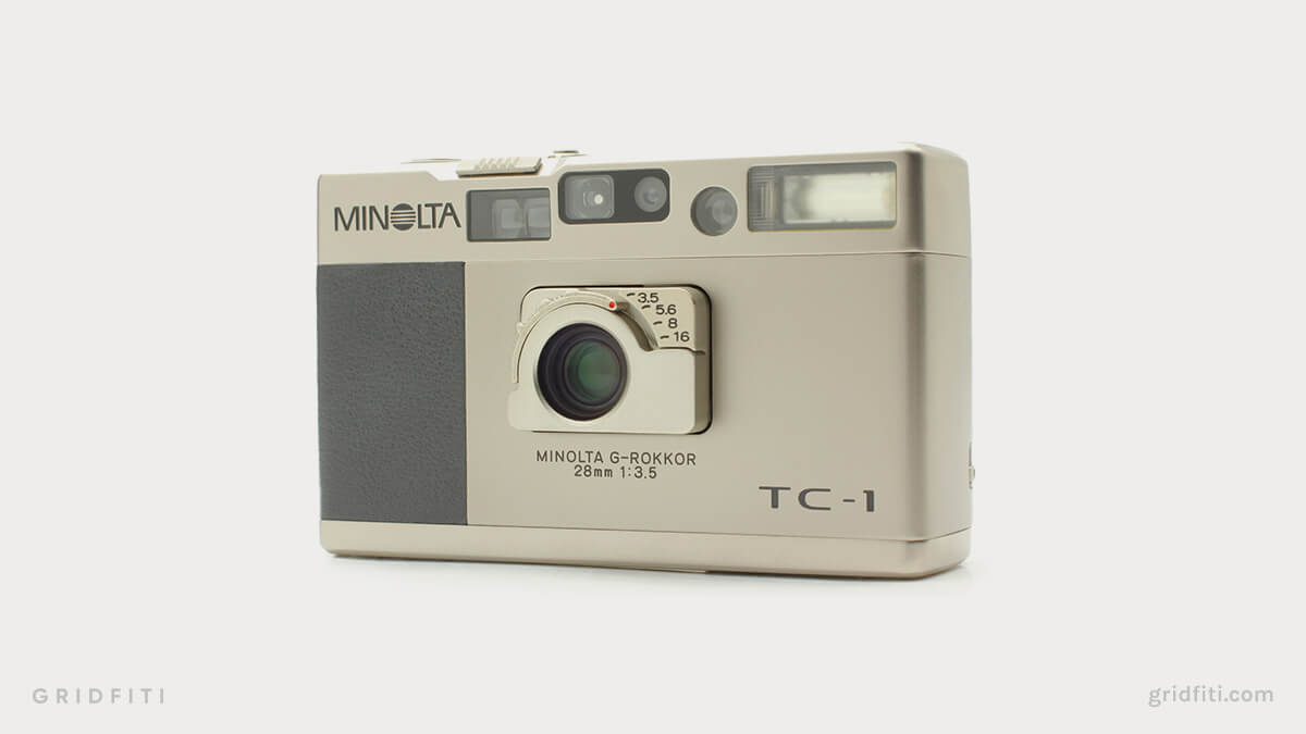 Minolta TC-1 vs Contax T2