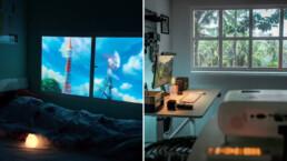 Fake Window Projector Ideas