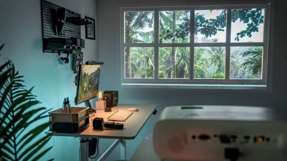 TikTok Fake Window Projector for Desk