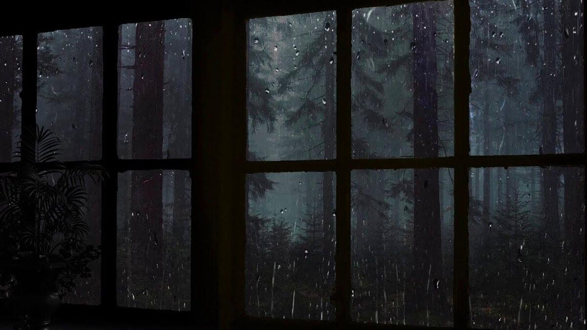 Rainy Fake Window Videos