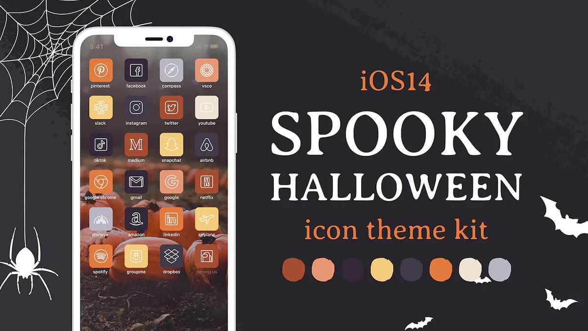 Halloween iOS App Icons