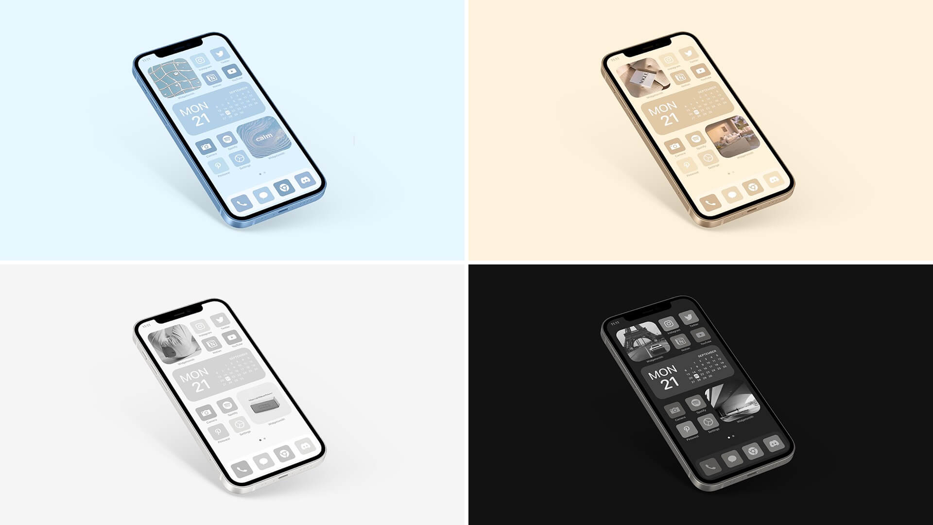 iPhone Themed iOS Icon Pack