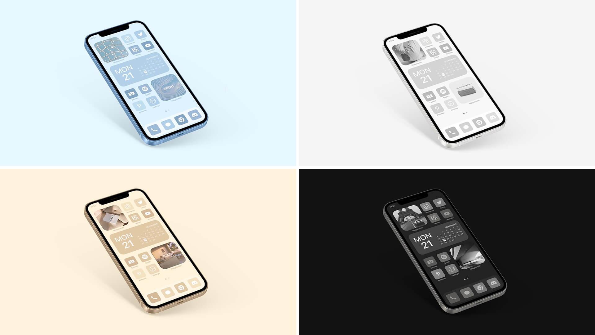 Sierra Blue iPhone Icon Theme