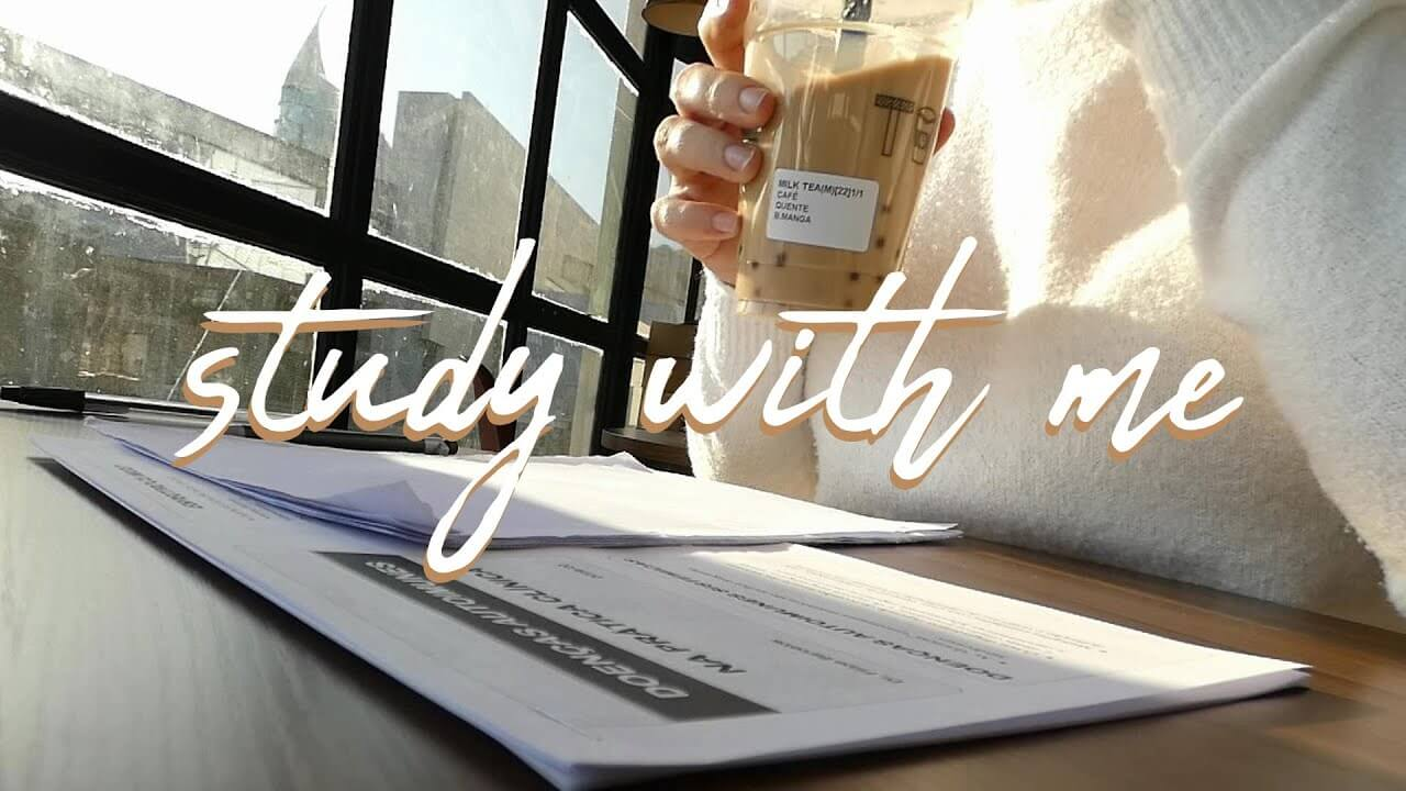 Study With Me at a Cafe