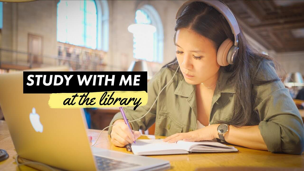 Study With Me at the Library