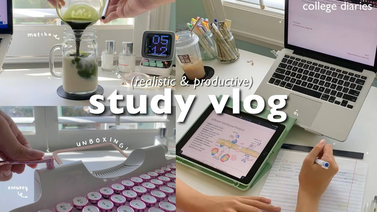 Study With Me Vlogs